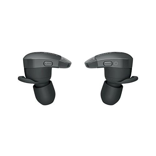ソニー ワイヤレスノイズキャンセリングステレオヘッドセット WF-1000X B (ブラック)の商品画像|3
