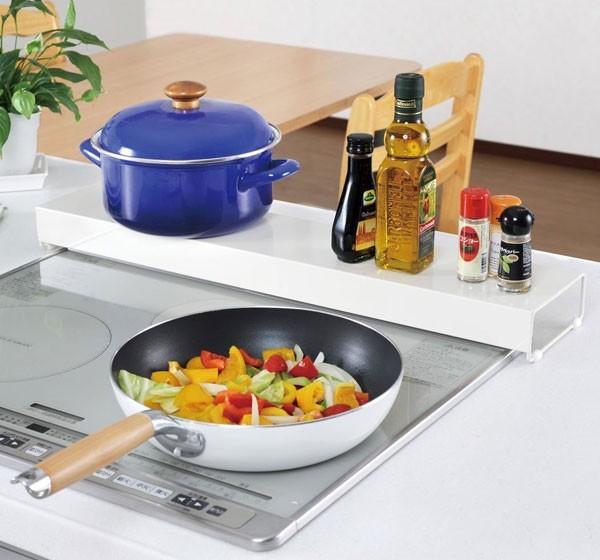 卓上プリンターラック  プリンター台 卓上棚 上置き棚 キッチン用小物置き棚 卓上ラック - aimcube画像2
