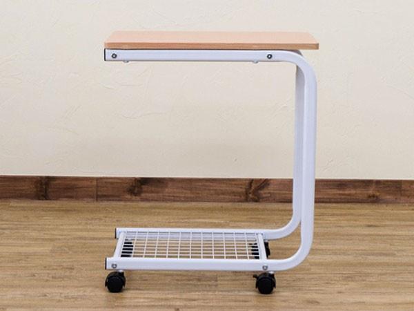 介護用テーブル 簡易テーブル 補助台 キャスター付 ベッドサイドテーブル - aimcube画像2