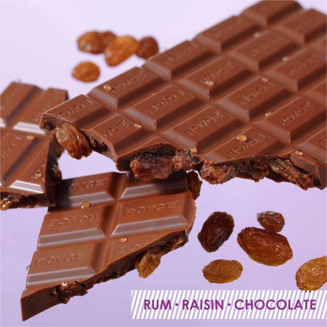 ロイズ 板チョコレート ラムレーズン 125g×1個の商品画像|3
