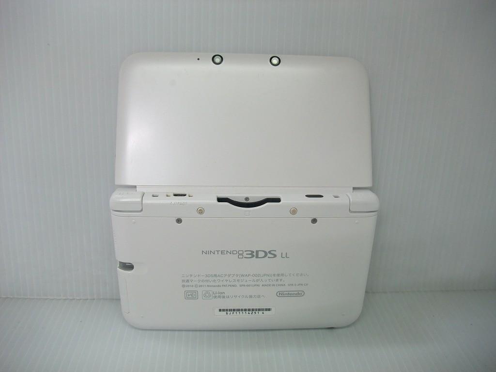 任天堂 ニンテンドー3DS LL ホワイトの商品画像|4