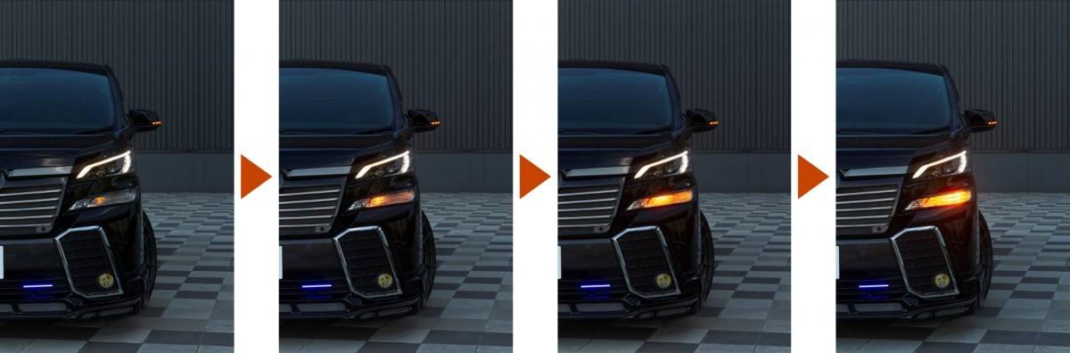 ヴァレンティ ジュエルLED シーケンシャル ウインカーバルブ FAW-01の商品画像|2