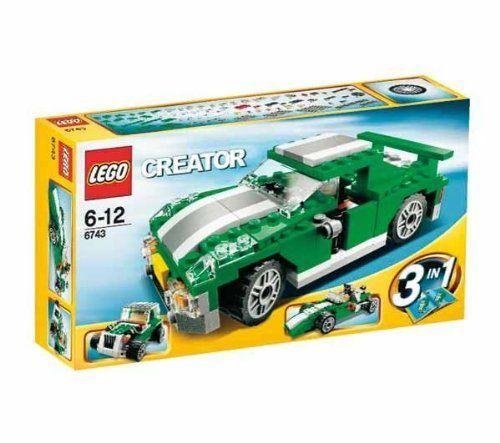 レゴ 6743 ストリートスピーダーの商品画像 ナビ