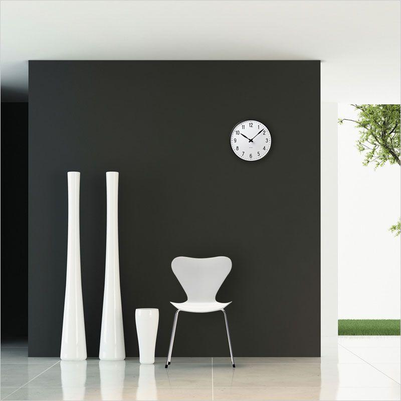 ローゼンダール コペンハーゲン アルネ・ヤコブセン 掛け時計 ステーションクロック 43633 210mmの商品画像|2