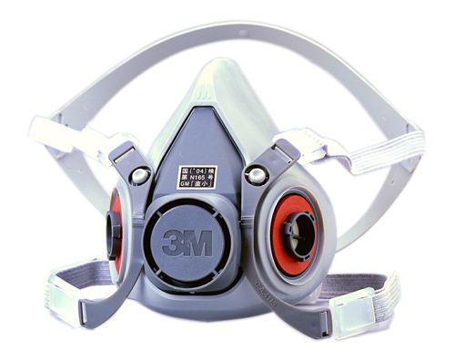 【3M/スリーエム】 防毒マスク 6000 (半面形面体) 【ガスマスク・作業用】