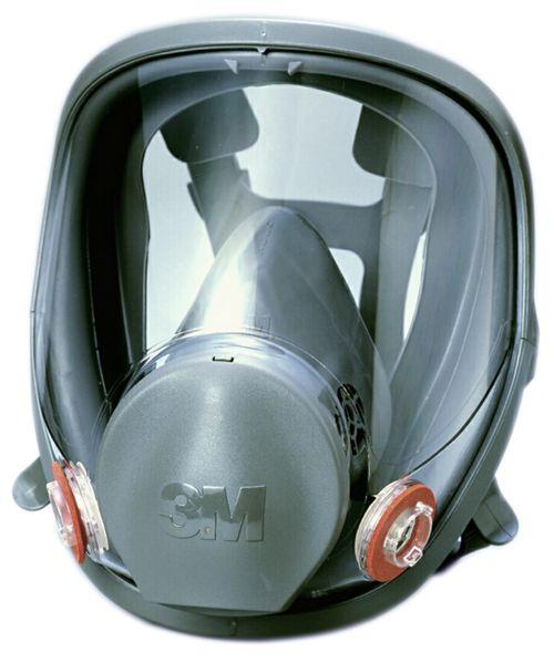 【3M/スリーエム】 防毒マスク 6000F (全面形面体) 【ガスマスク・作業用】