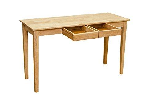 サカベ 木製テーブル W1200×D450×H715mm UMT-1245NA ナチュラル色の商品画像 ナビ