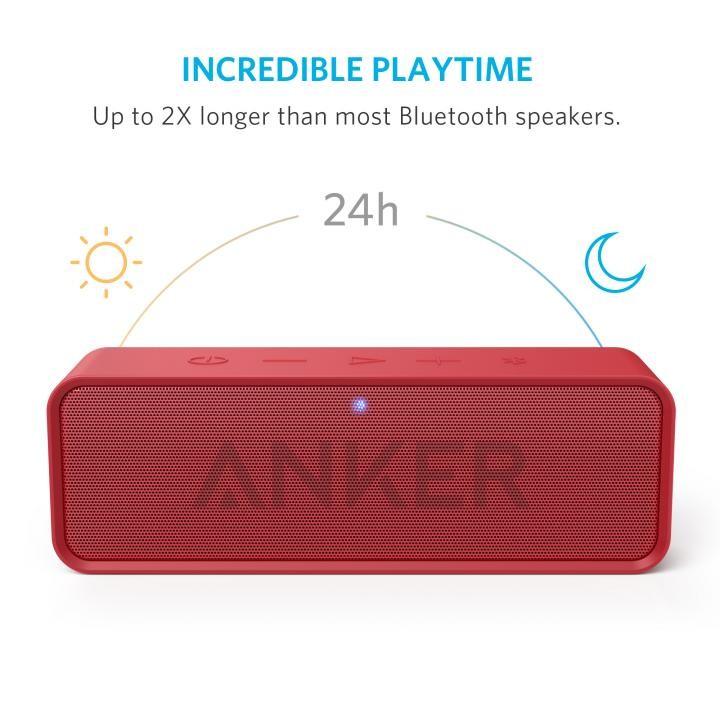 Bluetoothスピーカー SoundCore A3102091 (レッド)の商品画像|3