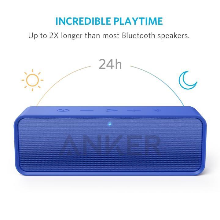 Bluetoothスピーカー SoundCore A3102031 (ブルー)の商品画像 2
