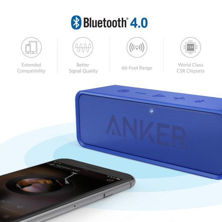 Bluetoothスピーカー SoundCore A3102031 (ブルー)の商品画像 3