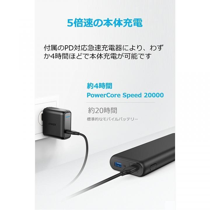アンカー B1275011(PowerCore Speed 20000 PD)の商品画像|3