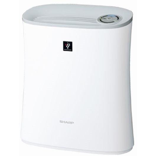 シャープ プラズマクラスター7000 薄型空気清浄機 (ホワイト系) FU-L30-Wの商品画像 ナビ