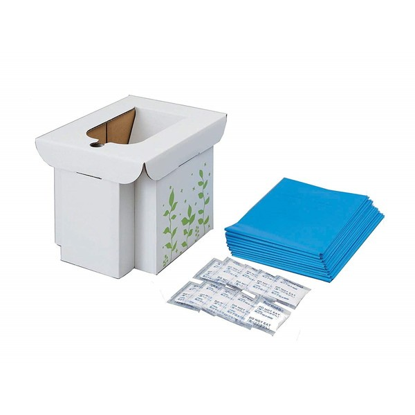 簡易トイレ 非常用 防災 コジット 緊急用組み立て式トイレ 防災グッズ 断水 災害 ポータブル 折り畳み アウトドア キャンプ