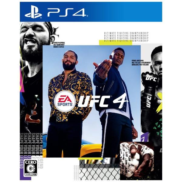 【PS4】 EA SPORTS UFC 4の商品画像|ナビ
