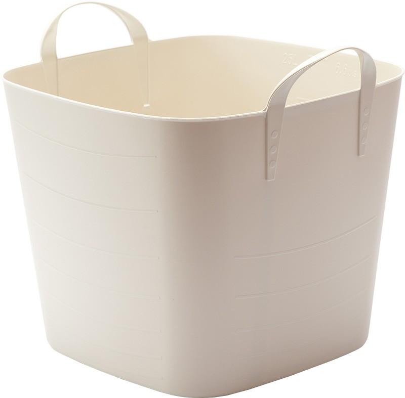 baquet Mサイズ 25L (ホワイトグレー)の商品画像 2
