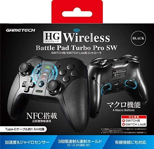 HGワイヤレスバトルパッドターボProSW ブラック SWF2283の商品画像|ナビ