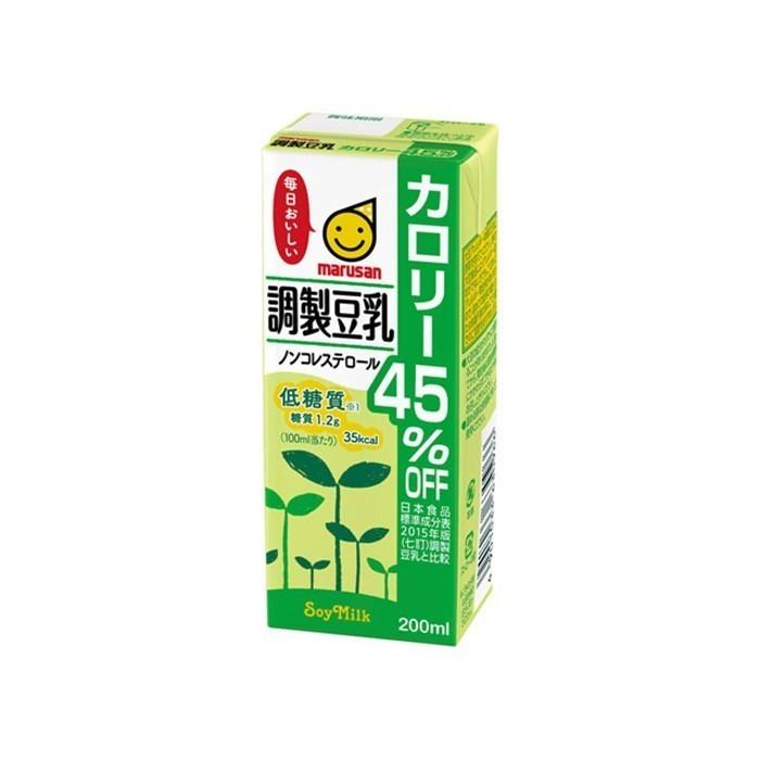 マルサンアイ 調製豆乳 カロリー45%オフ 200ml 紙パック 12本の商品画像|4