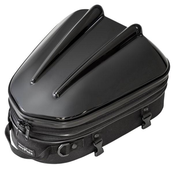 (タナックス) MOTOFIZZ ブラック MFK-238 バイク用シートバッグ (容量10-14L) MT/ (モトフィズ) TANAX シェルシートバッグ