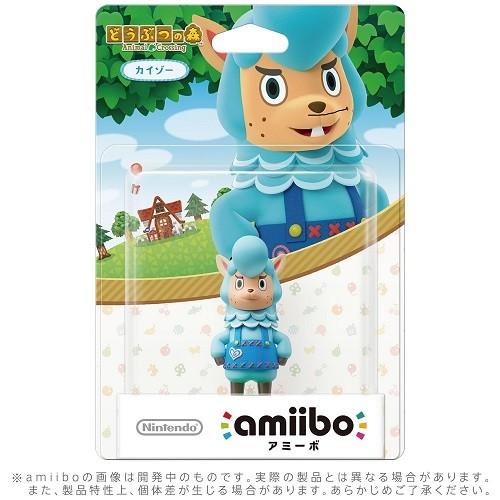 任天堂 amiibo カイゾー どうぶつの森シリーズの商品画像 ナビ