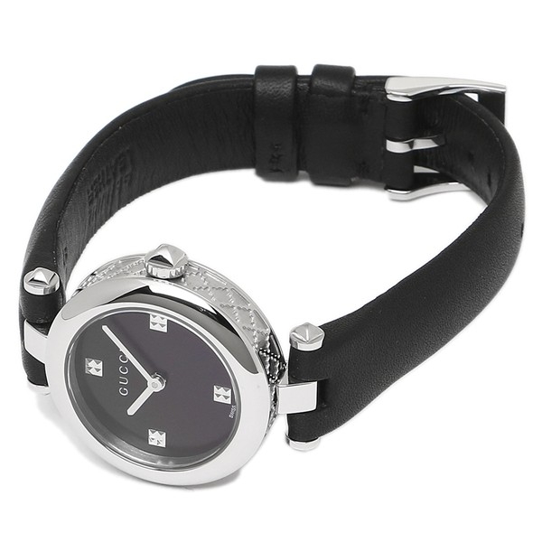 a81100f26e7 GUCCI 腕時計 レディース グッチ YA141506 シルバー ブラック  gu ...