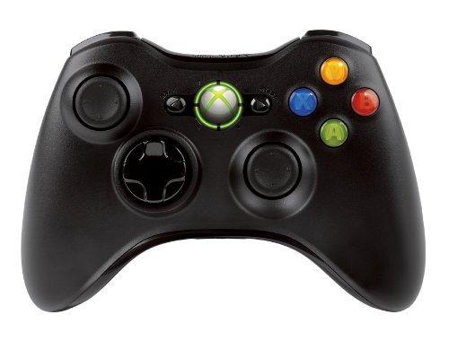 Xbox360 ワイヤレスコントローラー リキッドブラック NSF-00004の商品画像|ナビ