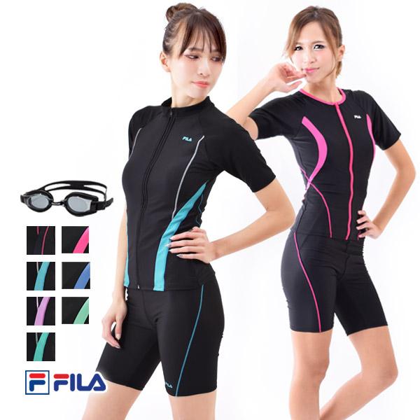FILA(フィラ)日本製ゴーグル付き豪華4点セット