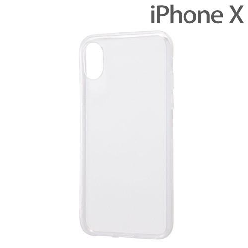 レイ・アウト iPhone X用 TPUソフトケース ウルトラクリア クリア RT-P16TC3/CMの商品画像|ナビ