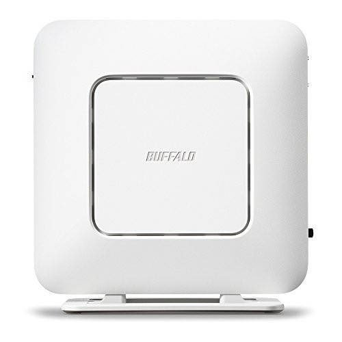 バッファロー 11ac 2×2対応Wi-Fiルーター エアステーション WSR-1166DHP3-WH(ホワイト)の商品画像 4