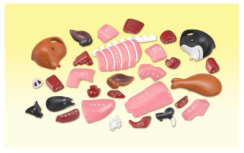 立体パズル 一頭買い!!黒豚パズルの商品画像|3
