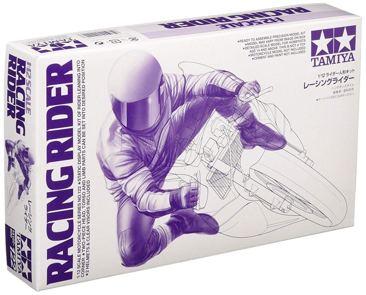 レーシングライダー (1/12スケール オートバイ No.122 14122)の商品画像 ナビ