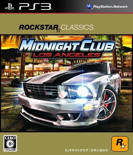 【PS3】スパイク・チュンソフト ロックスター・クラシックス ミッドナイト クラブ: ロサンゼルスの商品画像 ナビ