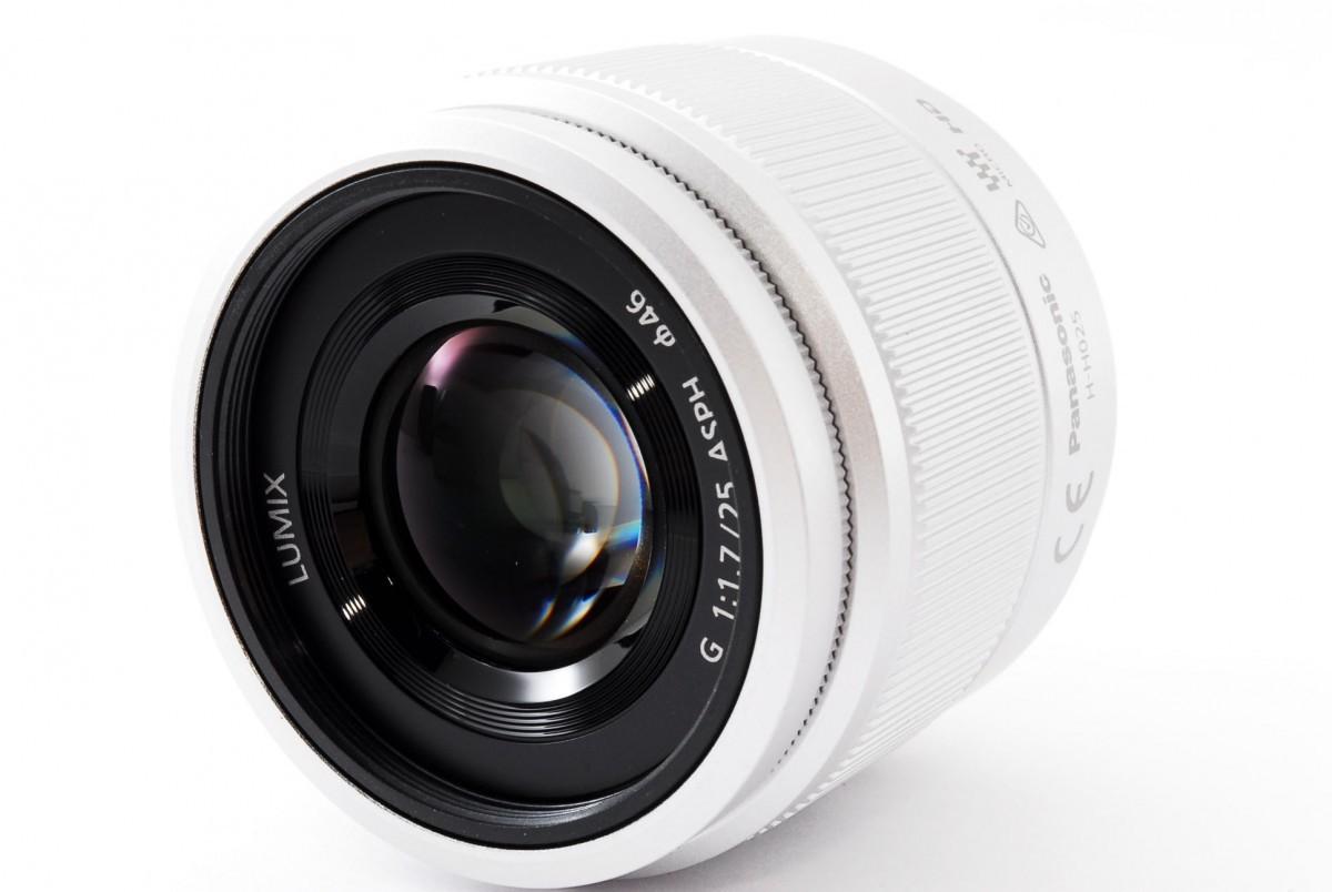 パナソニック LUMIX G 25mm / F1.7 ASPH.(H-H025S)シルバーの商品画像|2