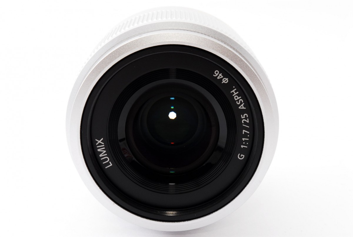 パナソニック LUMIX G 25mm / F1.7 ASPH.(H-H025S)シルバーの商品画像|3