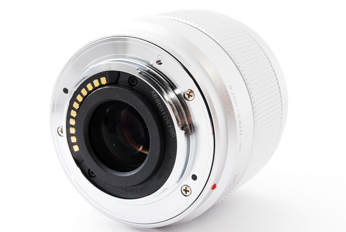 パナソニック LUMIX G 25mm / F1.7 ASPH.(H-H025S)シルバーの商品画像|4