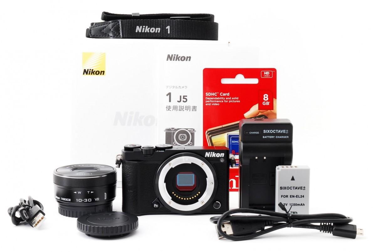 ニコン ニコンワン Nikon 1 J5 標準パワーズームレンズキット(ブラック)の商品画像|2