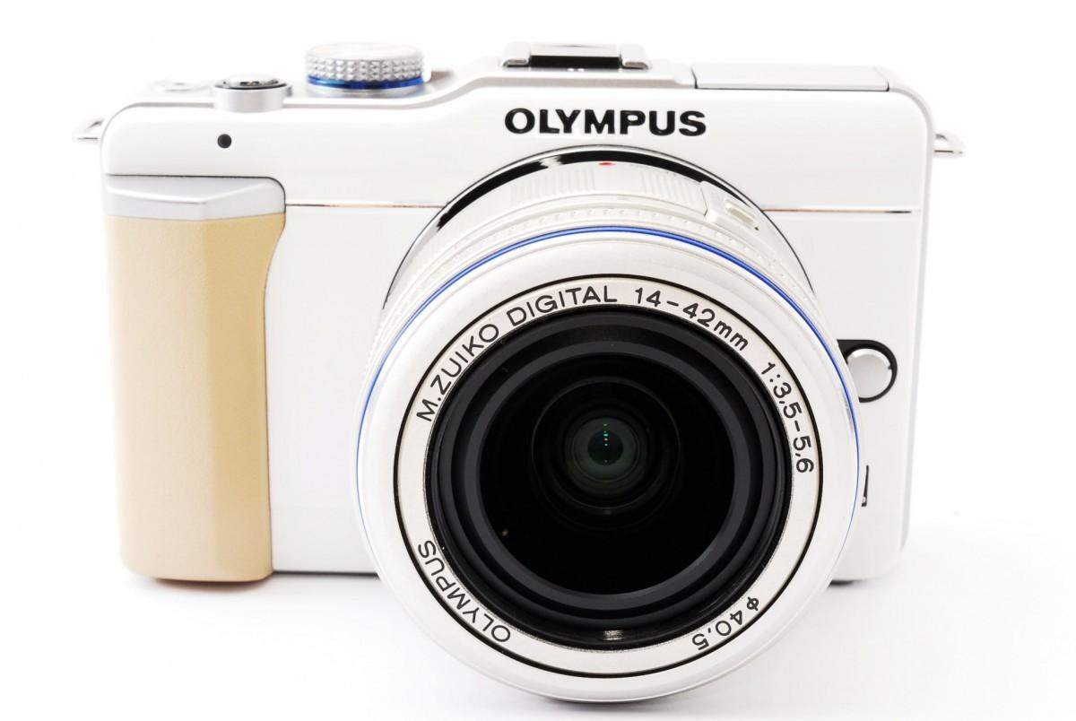 オリンパス オリンパスペン OLYMPUS PEN Lite E-PL1 レンズキット(ホワイト)の商品画像 3