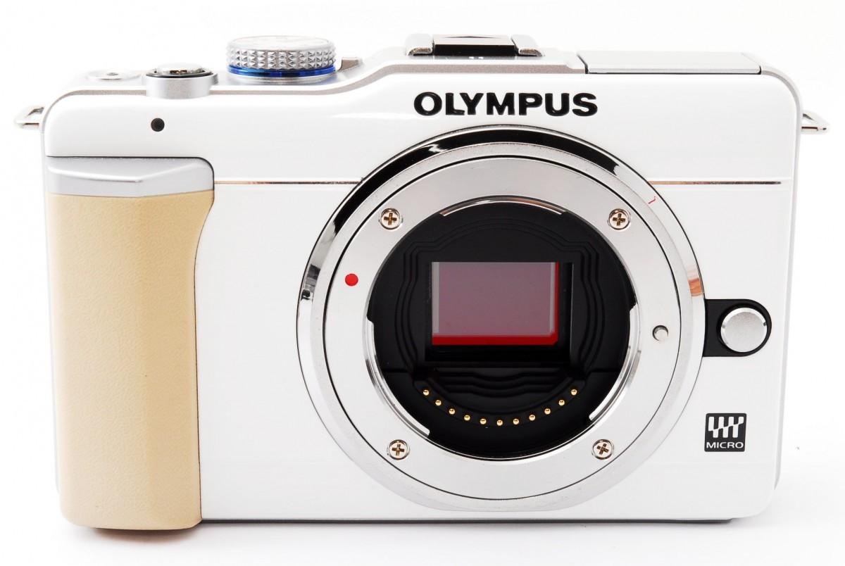オリンパス オリンパスペン OLYMPUS PEN Lite E-PL1 レンズキット(ホワイト)の商品画像 4