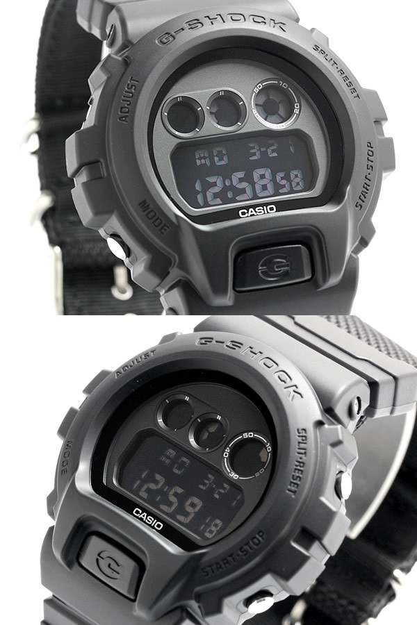 カシオ G-SHOCK ミリタリーブラック DW-6900BBN-1DRの商品画像|ナビ