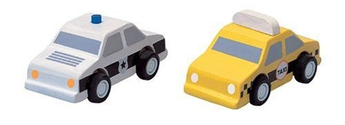 タクシーとパトカー 6073の商品画像|ナビ