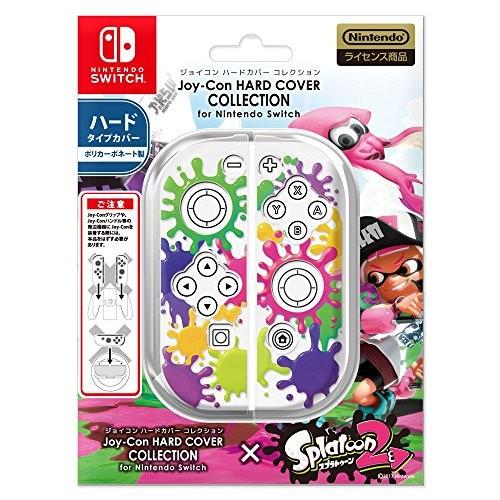 キーズファクトリー ジョイコンハードカバーコレクション for Nintendo Switch(スプラトゥーン2)Type-A CJH-001-1の商品画像 ナビ