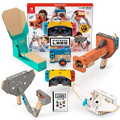 【Switch】Nintendo Labo Toy-Con 04: VR Kitの商品画像 ナビ
