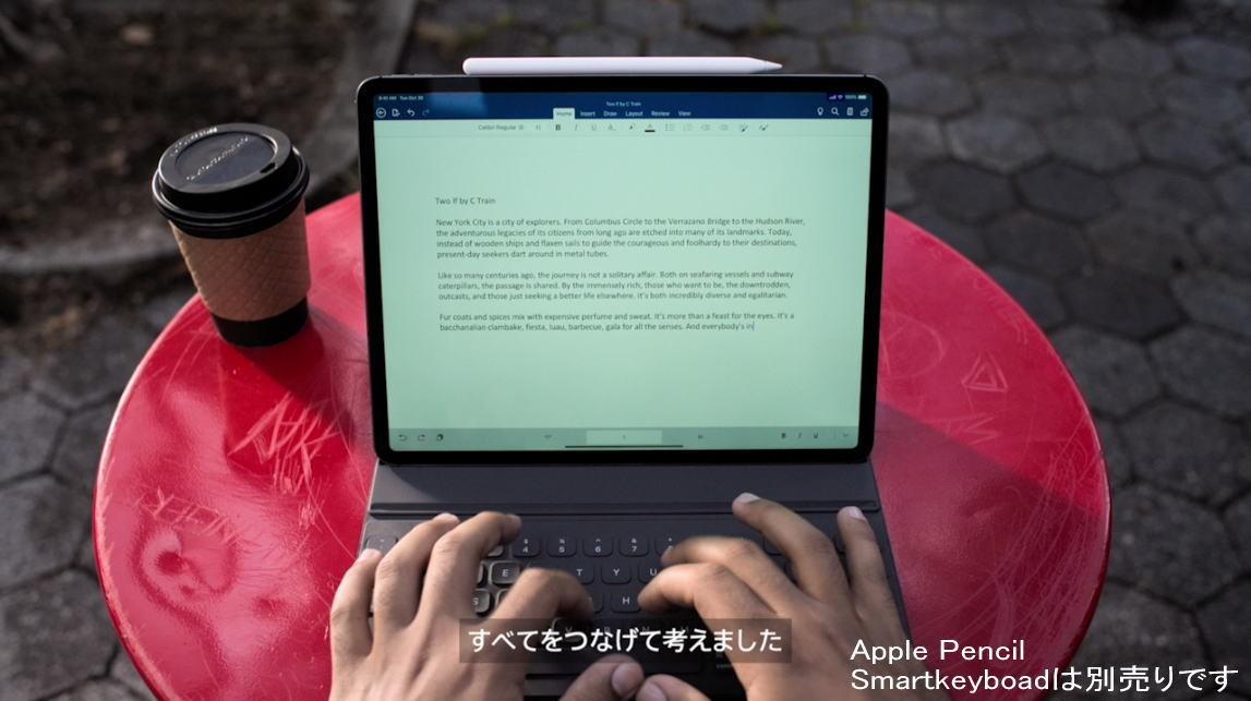 Apple iPad Pro 11インチ Wi-Fi 64GB スペースグレイの商品画像|3