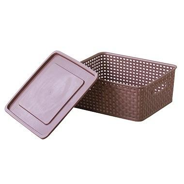 アミー ボックス Sサイズ W360×D300×H135mm LFS-691WH (ホワイト)の商品画像 3