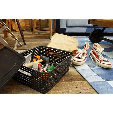 アミー ボックス Sサイズ W360×D300×H135mm LFS-691WH (ホワイト)の商品画像 4