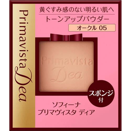 プリマヴィスタ ディア 肌色トーンアップパウダーファンデーションUV オークル05 レフィル 9gの商品画像|ナビ