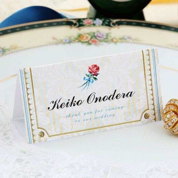 wedding name plate selection plate cardboard 6 name minute