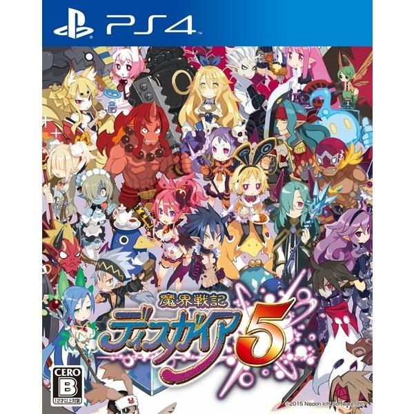 【PS4】日本一ソフトウェア 魔界戦記ディスガイア5 [通常版]の商品画像|ナビ