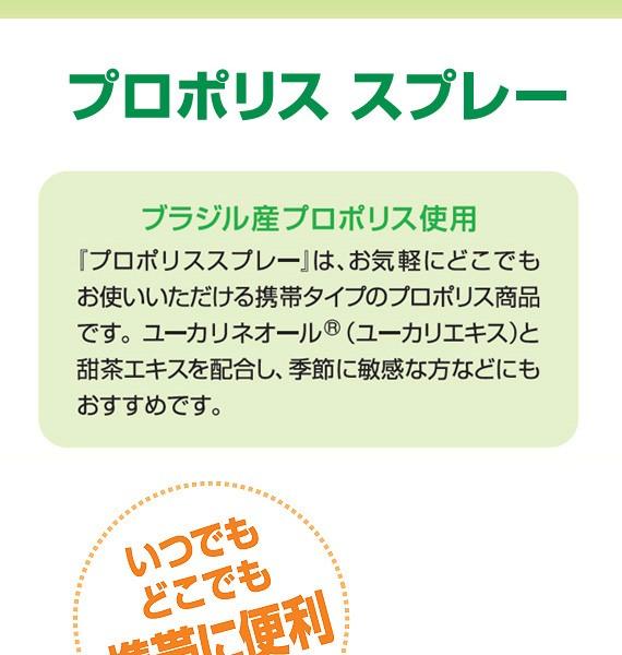 森川健康堂 プロポリススプレー 20mlの商品画像|2