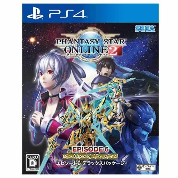 【PS4】 ファンタシースターオンライン2 エピソード6 デラックスパッケージの商品画像 ナビ