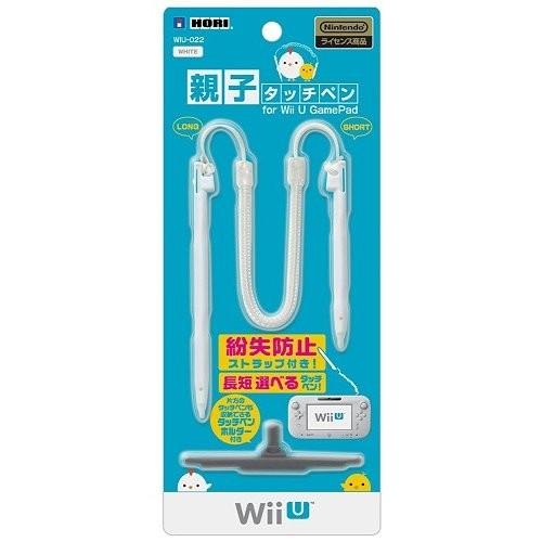ホリ 親子タッチペン for Wii U GamePad ホワイトの商品画像|ナビ